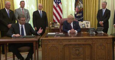 Trump Vucic 2